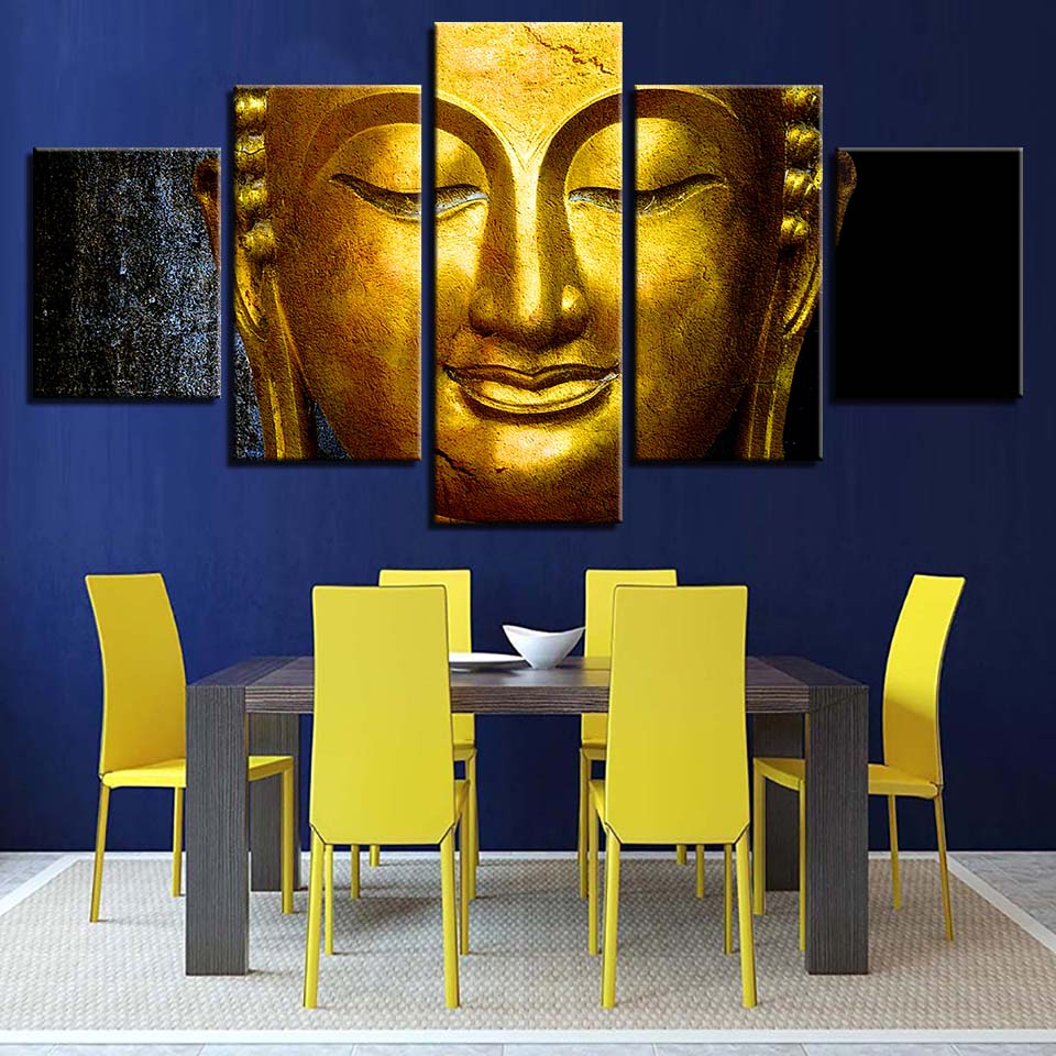 Gold Buddha - Ole Canvas