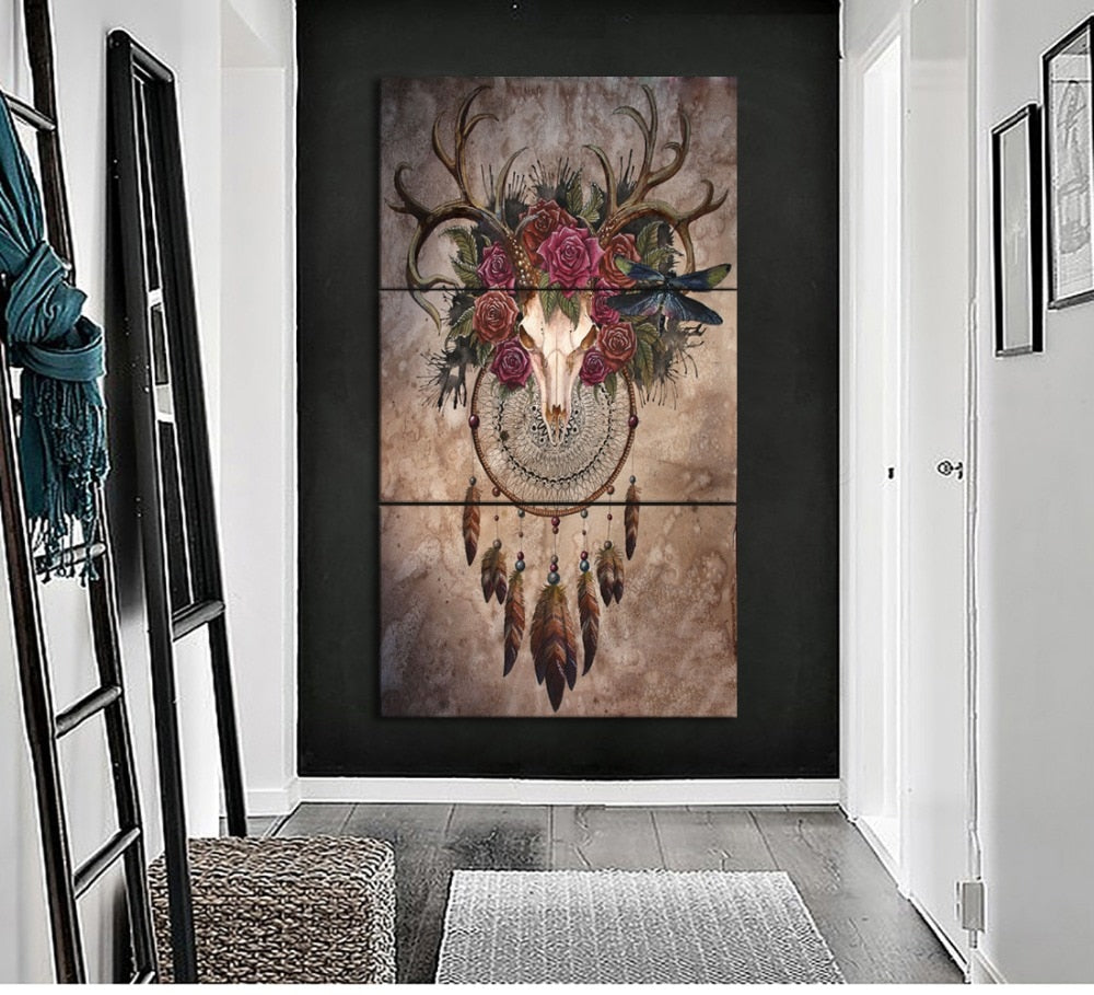 Deer Dream Catcher - Ole Canvas