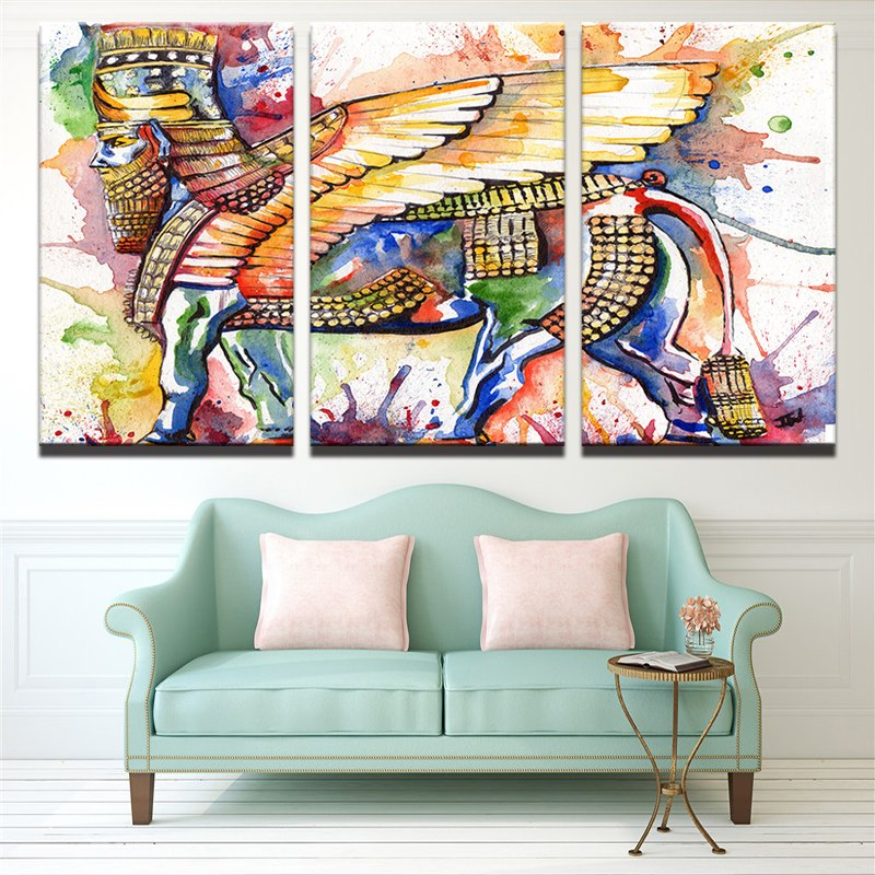 Egyptian Abstract, PRINTS, Ole Canvas