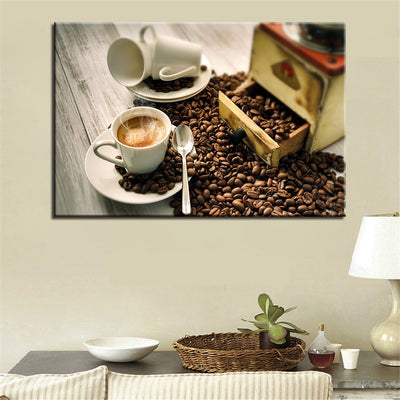Cafe Coffee - Ole Canvas