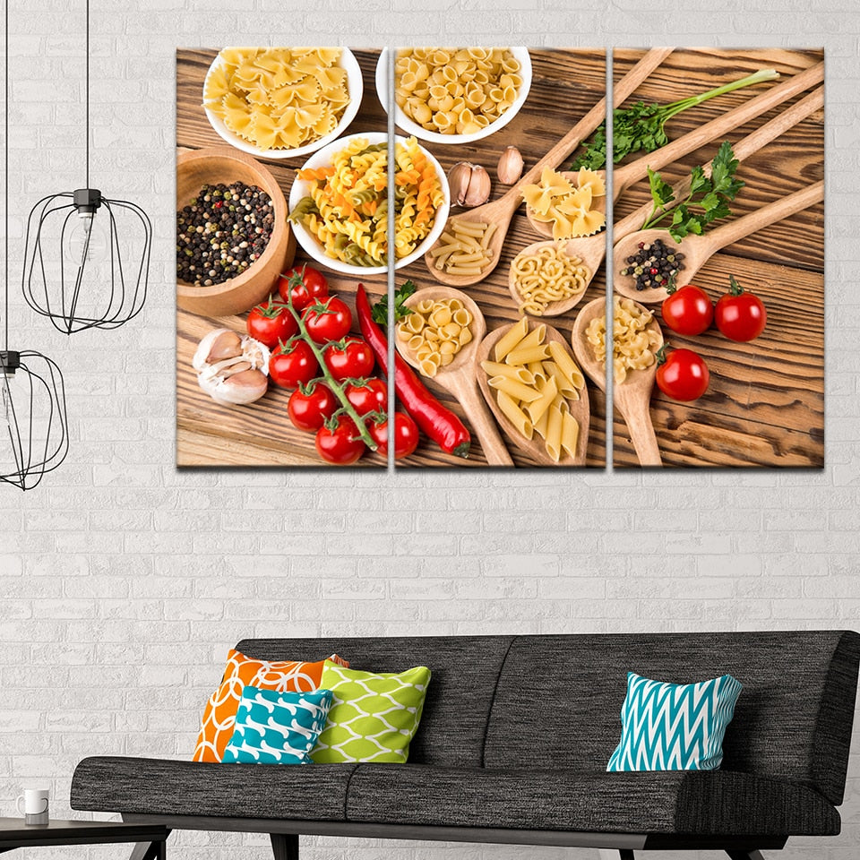 Italian Pasta, PRINTS, Ole Canvas