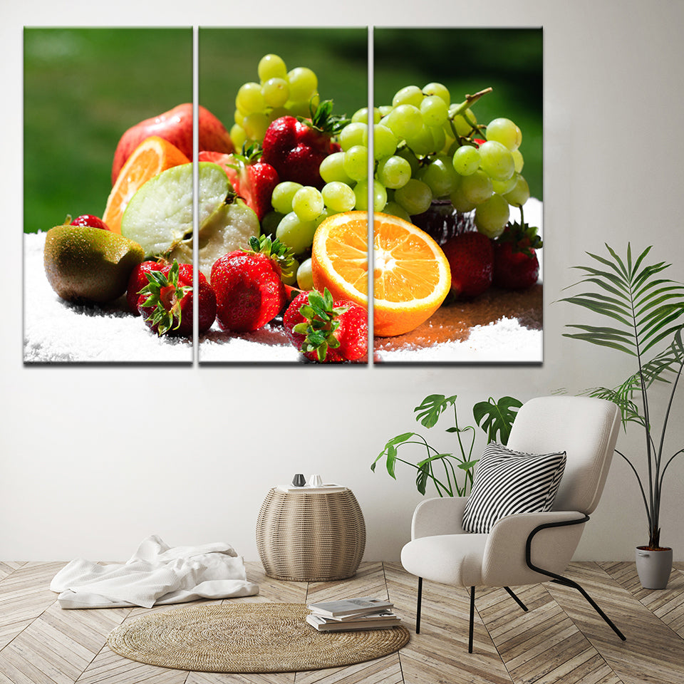 Green Grapes, PRINTS, Ole Canvas