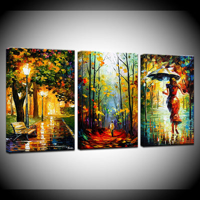 Autumn Trees - Ole Canvas