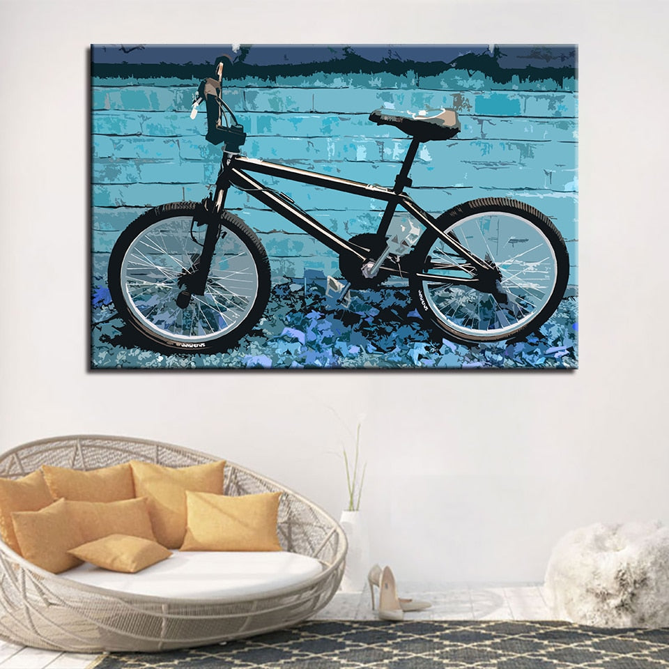 Bicycle, PRINTS, Ole Canvas