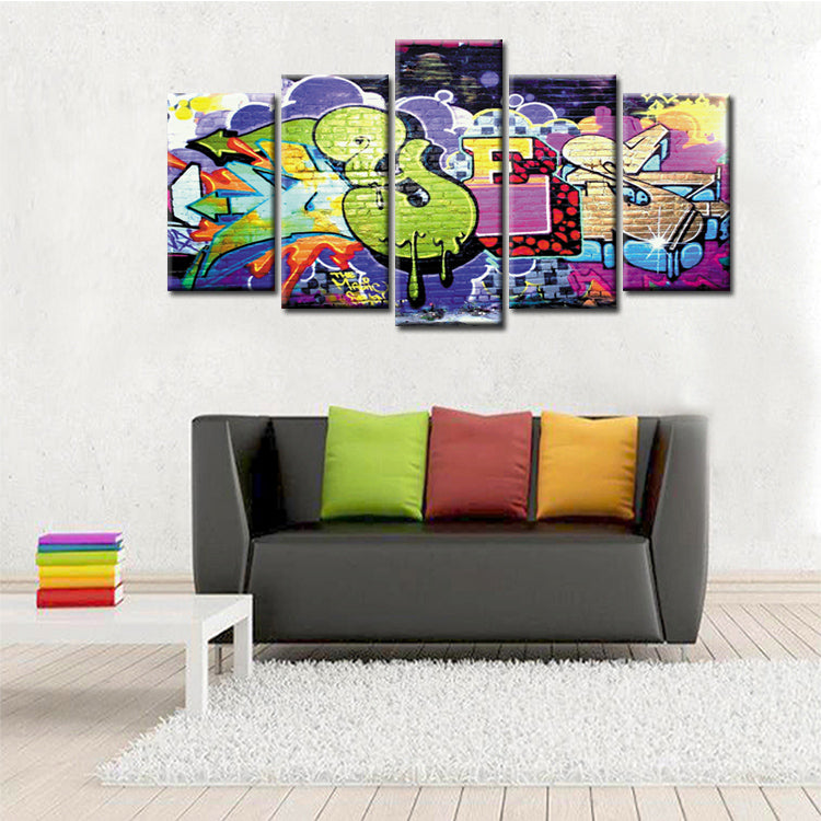 Limited Edition 1 - Graffiti - Ole Canvas
