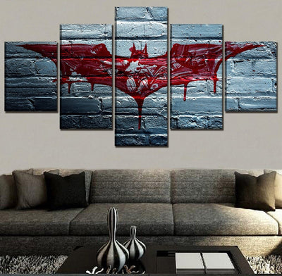 Red Blood Bat - Ole Canvas