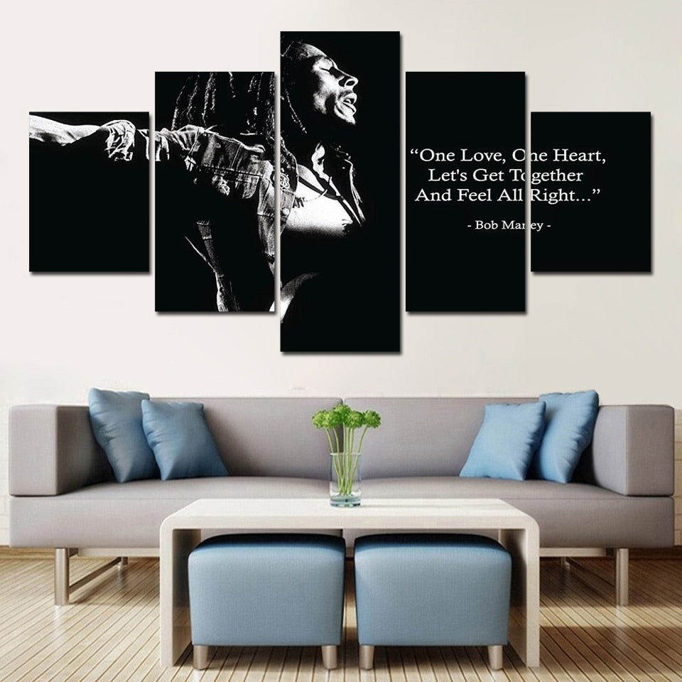 Bob Marley One Love - Ole Canvas