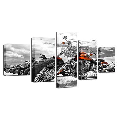 Motorcycles - Ole Canvas
