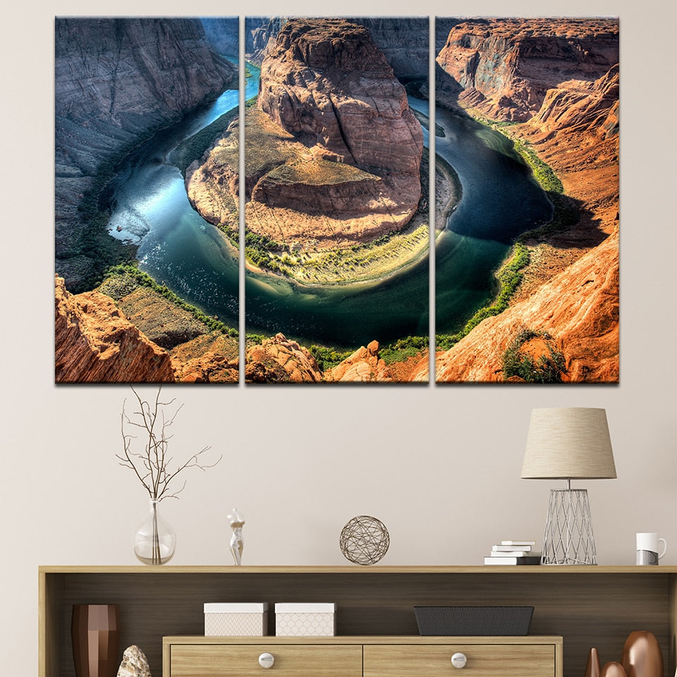 Horseshoe Bend - Ole Canvas