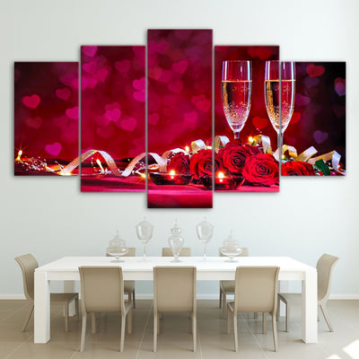 Romance and Champagne - Ole Canvas