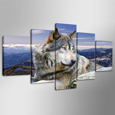 Mountain Wolf - Ole Canvas