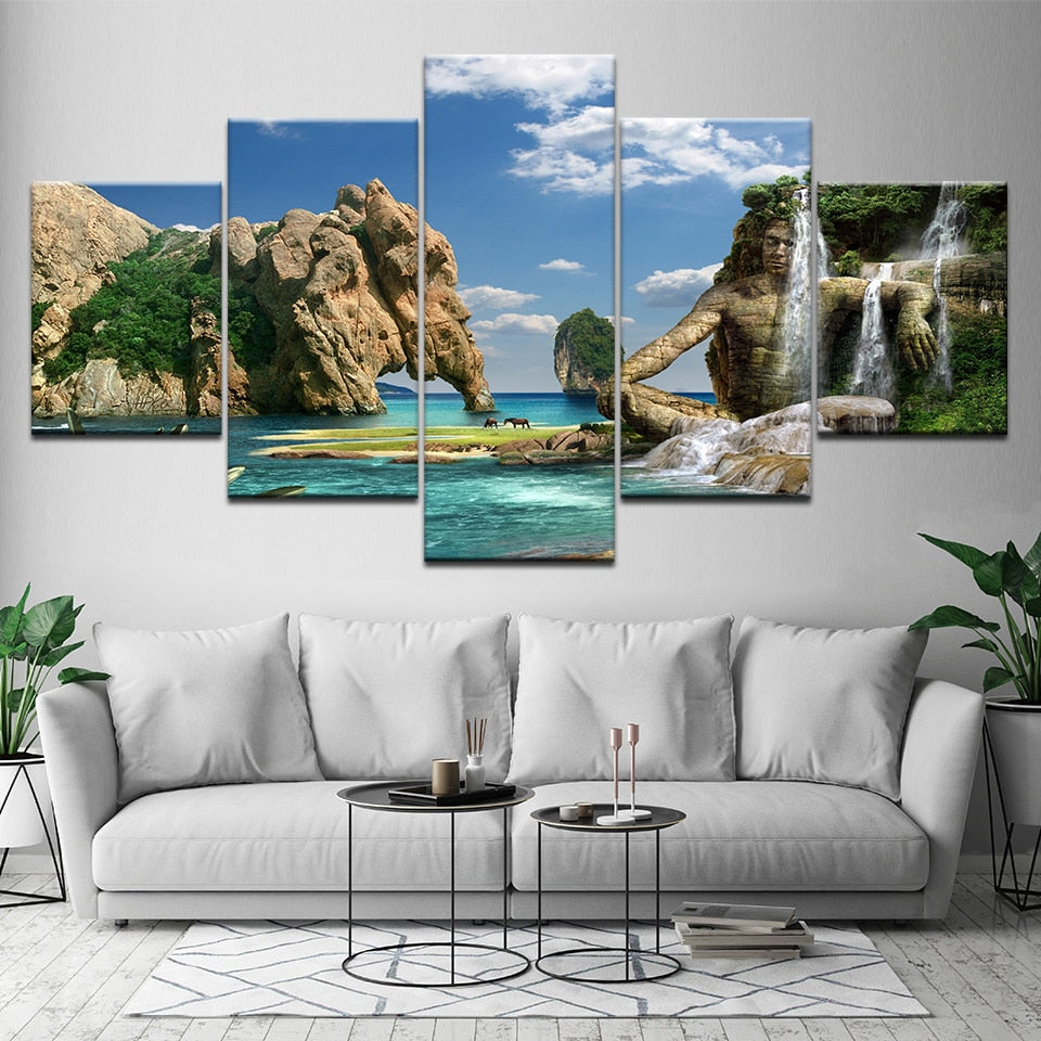 Elephant Island, PRINTS, Ole Canvas