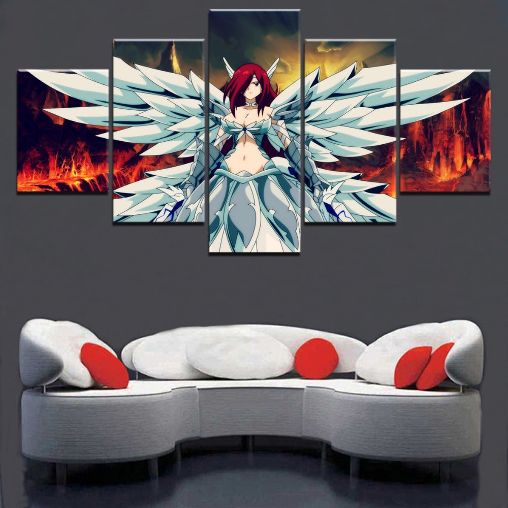 Erza Scarlet Fairy Tail - Ole Canvas