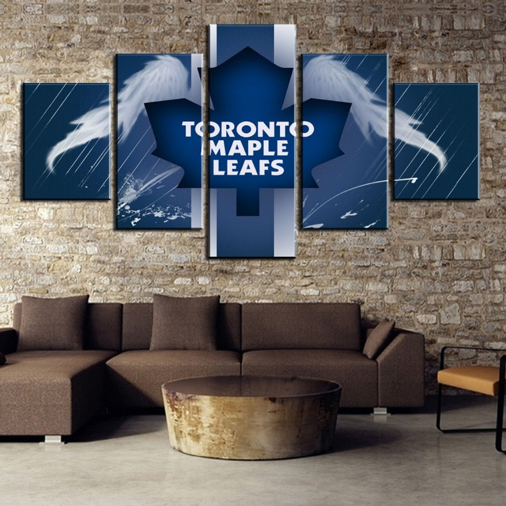 Toronto Maple Leafs With Wings