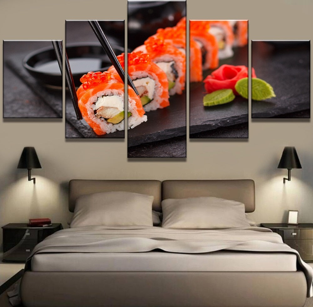 Art of Sushi, PRINTS, Ole Canvas
