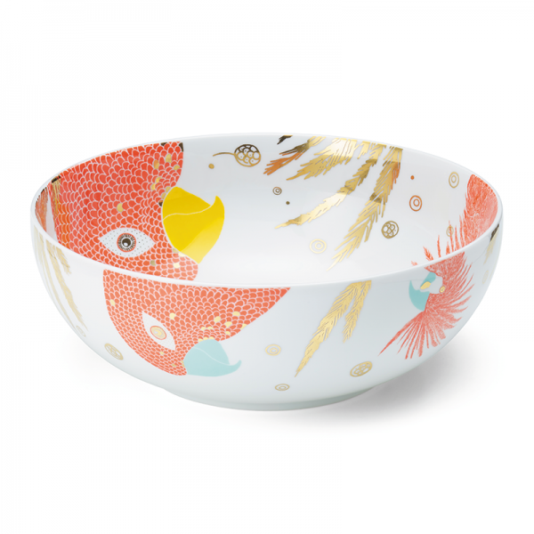 Salad bowl 28 cm, Bird Red