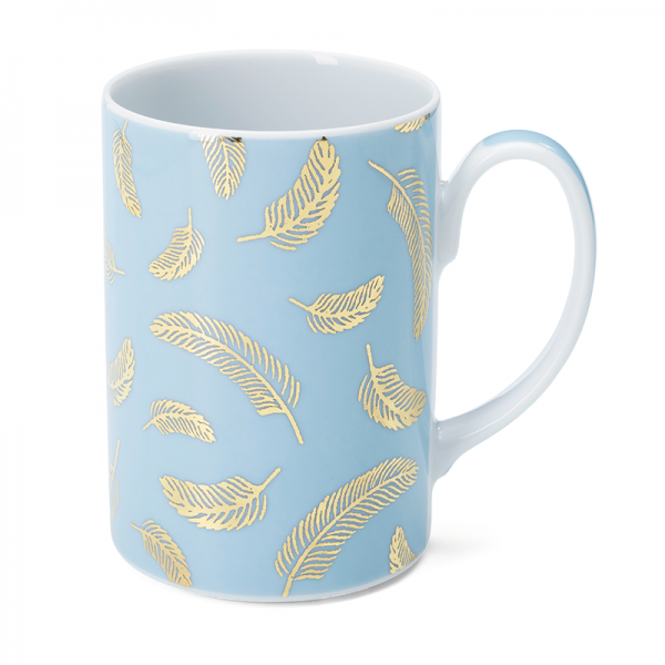 Mug 35 cl, Bird Blue