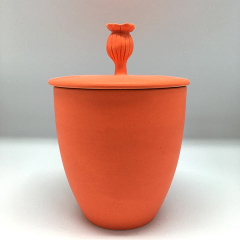 Poppy colour pot