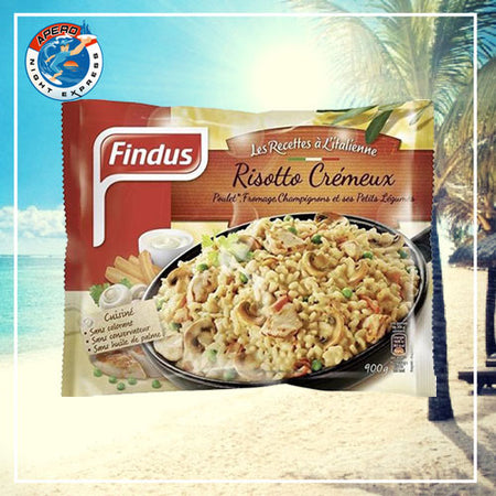 RISOTTO CREMEUX FINDUS 900G