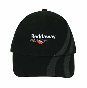 Baseball Cap Brushed Heavy Cotton with Tire Tracks
