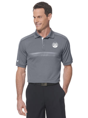 Embossed Athletic Polo