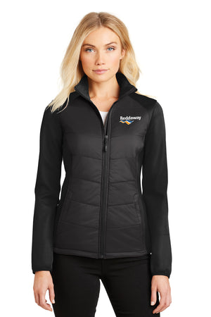 Ladies Soft Shell Hybrid Jacket
