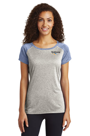 Heather-On-Heather Contender Scoop Neck Tee