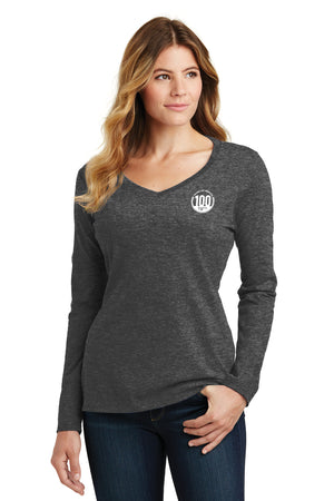 Long Sleeve Fan Favorite V-Neck Tee