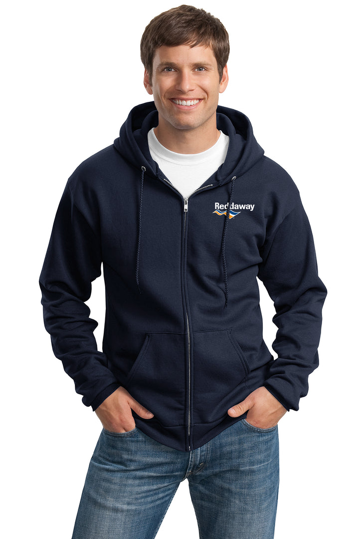 Tall Essential Fleece Full-Zip Hooded Sweatshirt