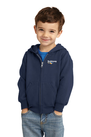 Toddler Full-Zip Hooded Sweatshirt