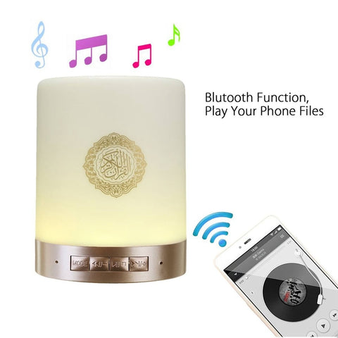 Bluetooth Quran Speaker™ with colorful led light
