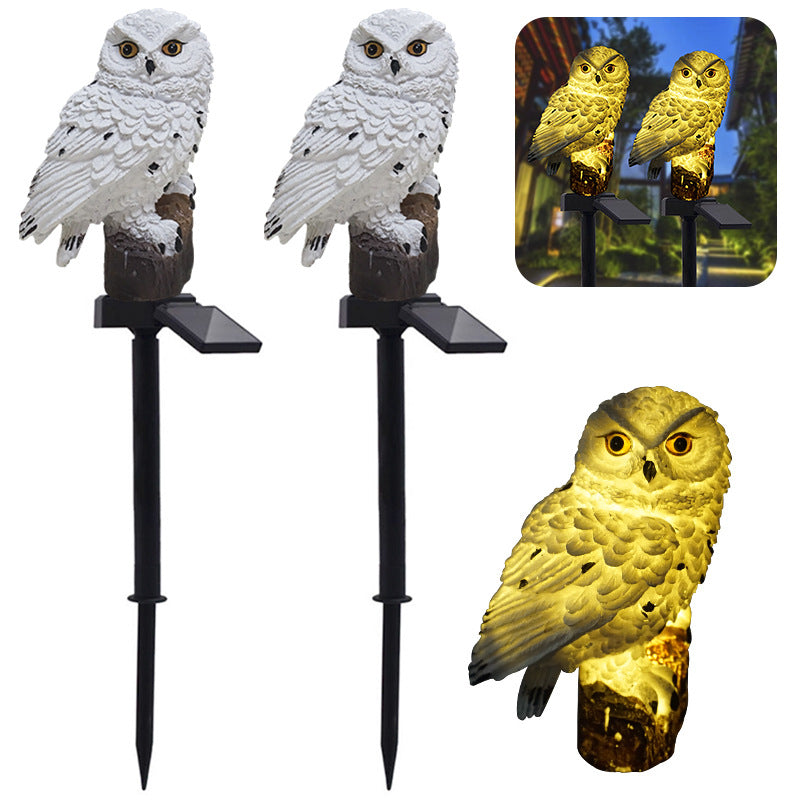 Solar Owl™ - Solar Powered Garden Decoration