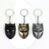 Image of Captain America Black Panther Keychain