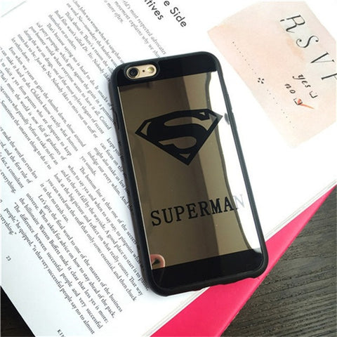 Couples Superman Superwoman Cases for Iphone