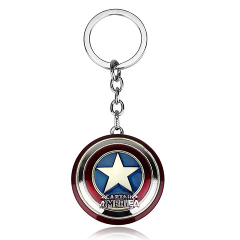 Captain America Black Panther Keychain