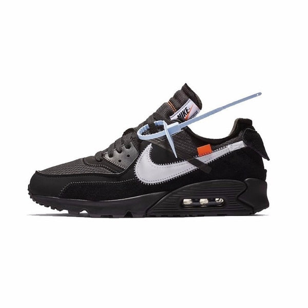 cheap for discount 931aa 039a1 Nike Air Max 90 Ow Original New Arrival Men Running Shoes Comfortable  Anti-slippery Sports