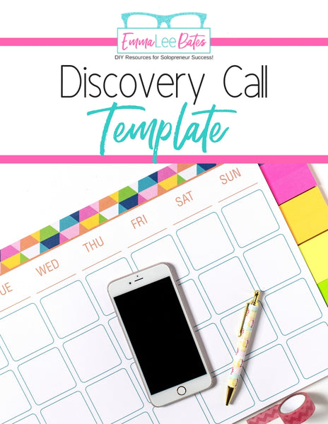 Discovery Call Template for Virtual Assistants
