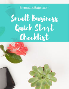 Small Business Quick Start Checklist