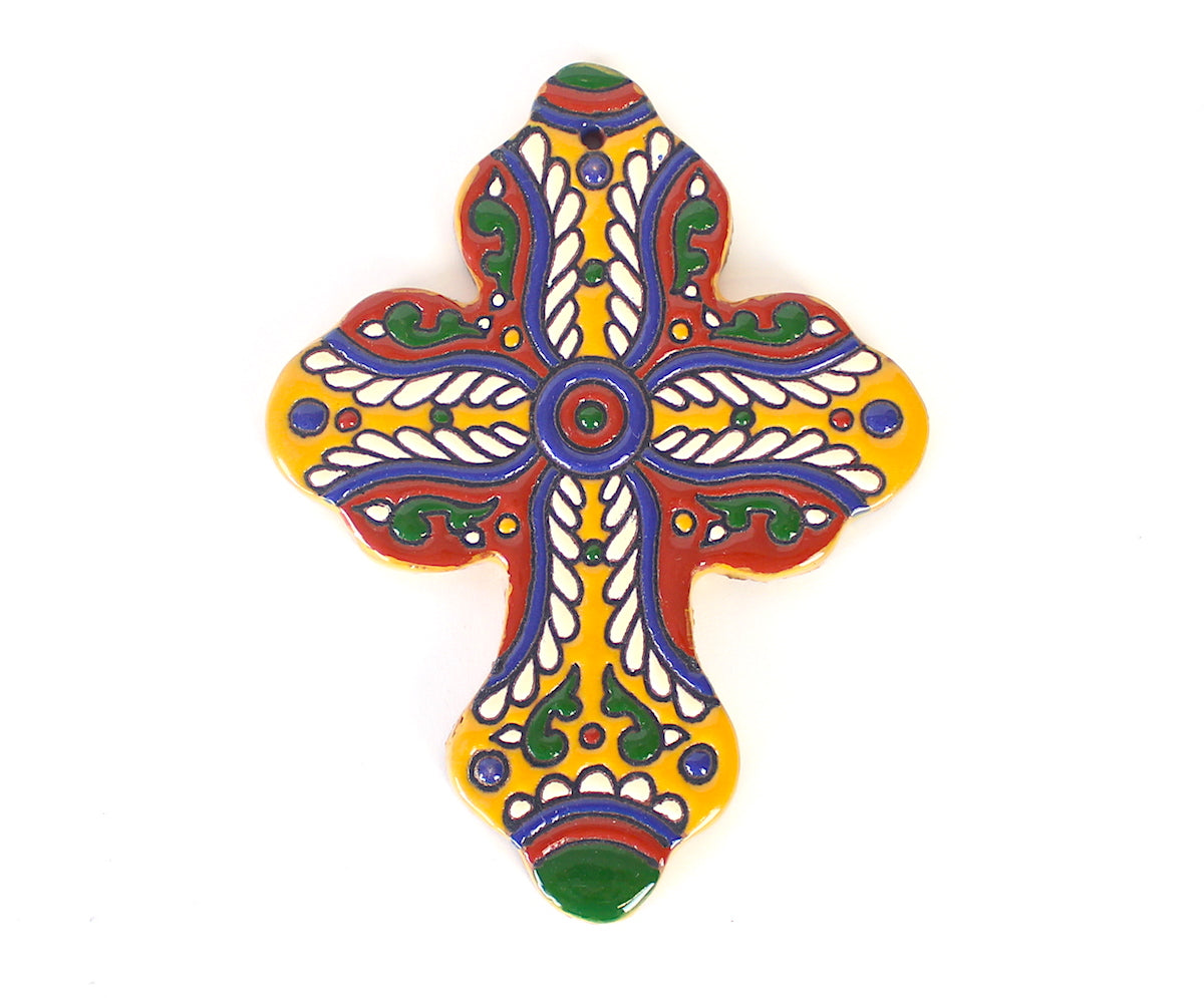 Hand Painted Ceramic Crosses