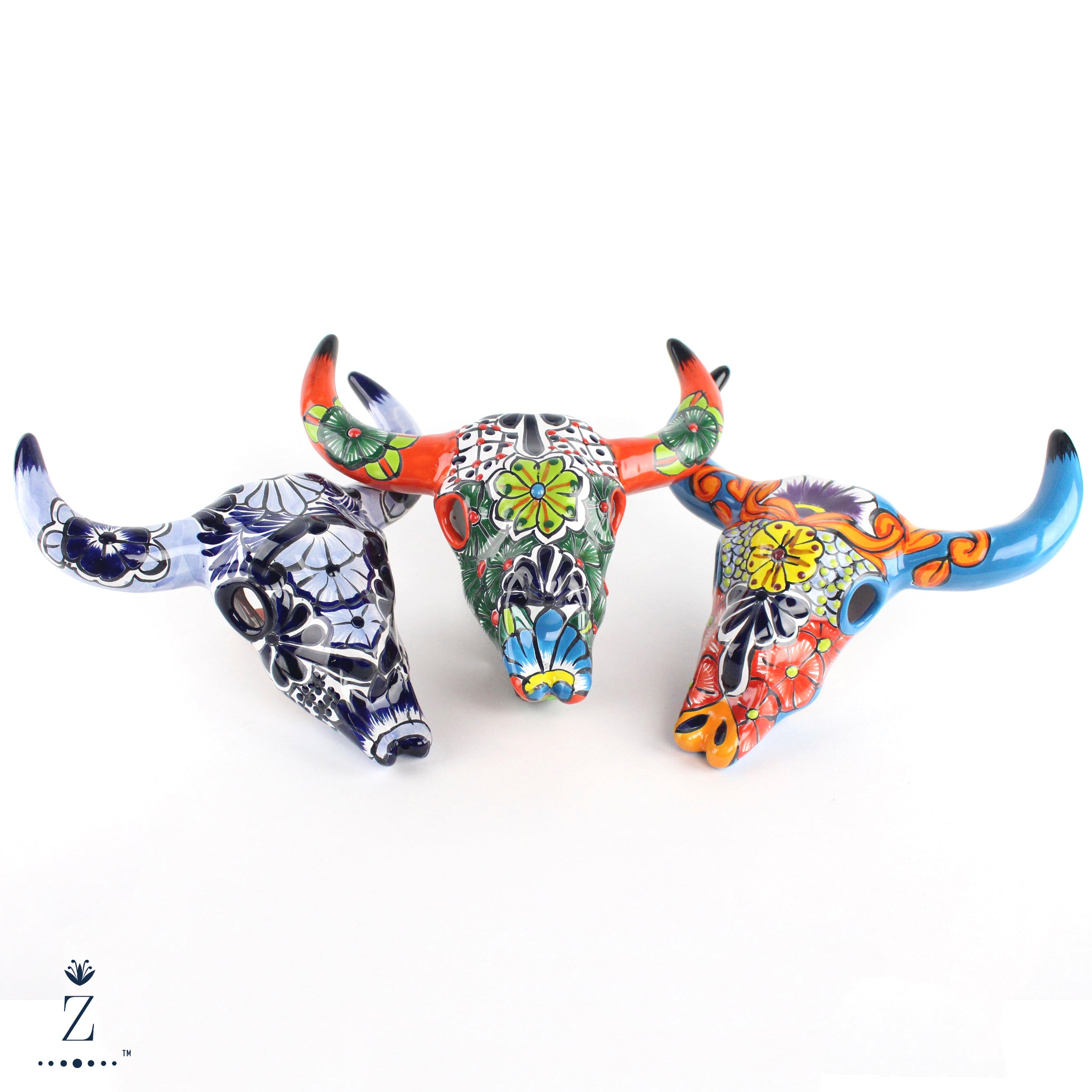 Longhorn Sculptures Talavera | Small