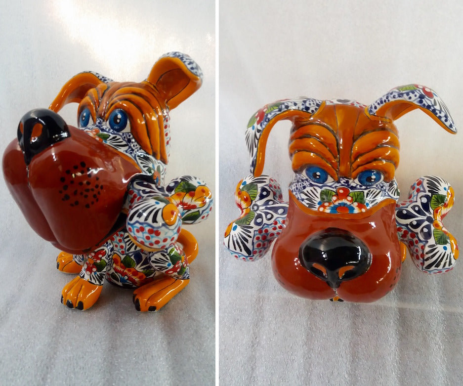 Chuy The Ceramic Dog.
