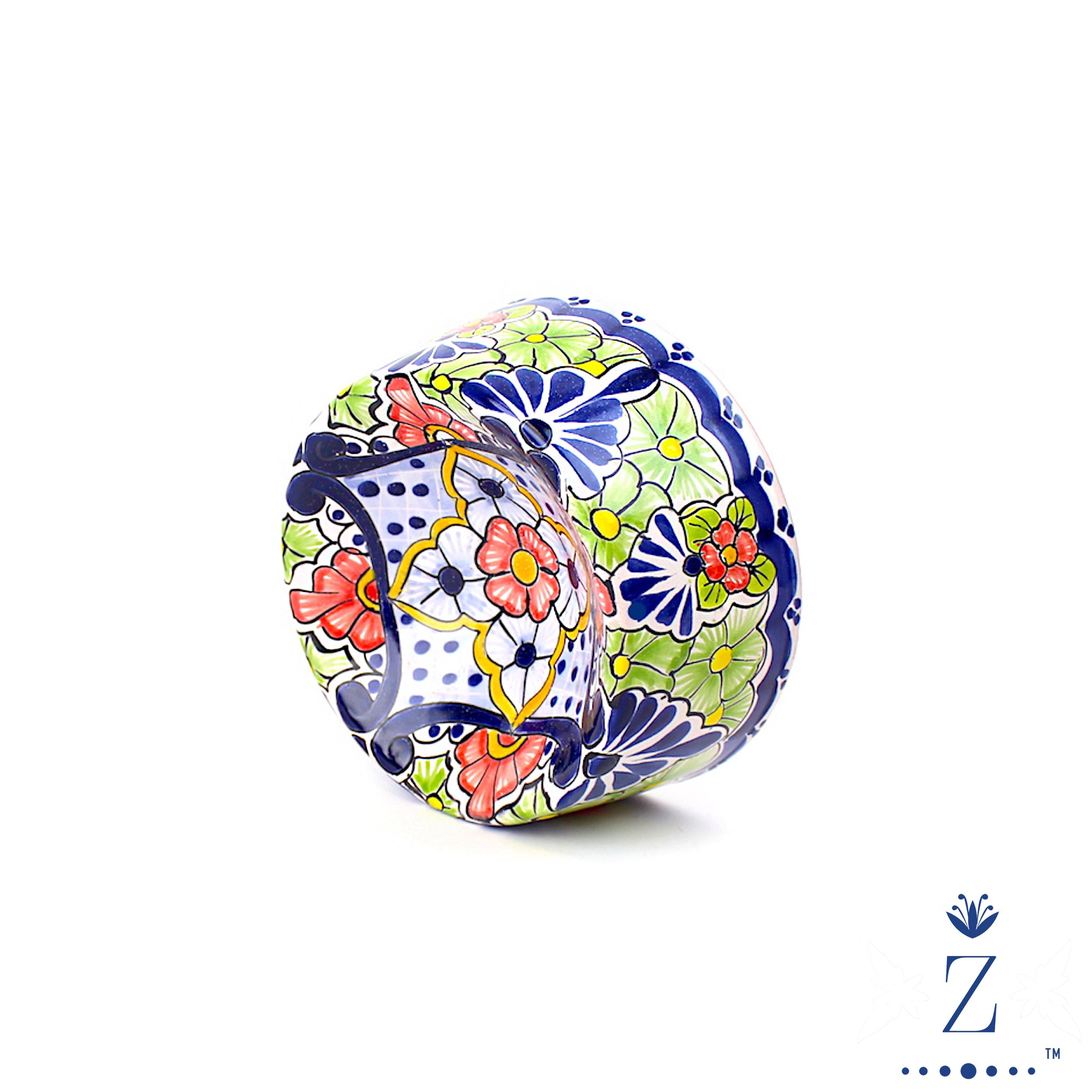 Talavera Pet Bowl | Hacienda Pattern