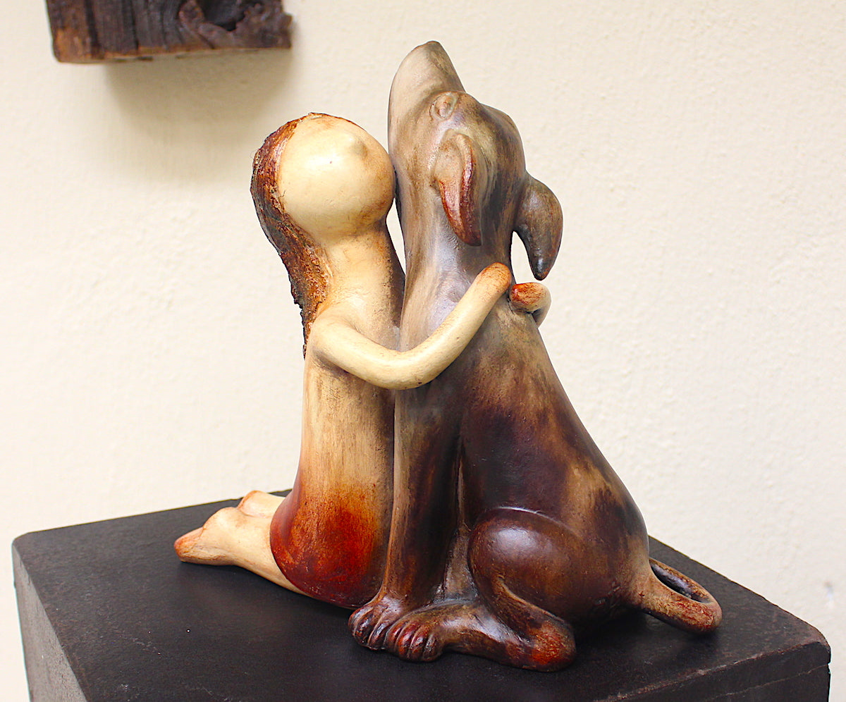 Amistad Ceramic Sculpture
