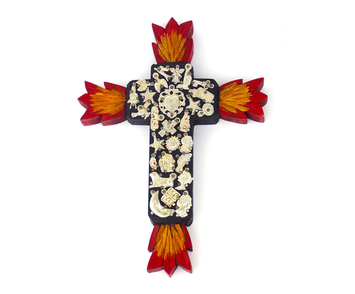 Illuminated Milagros Cross | Large