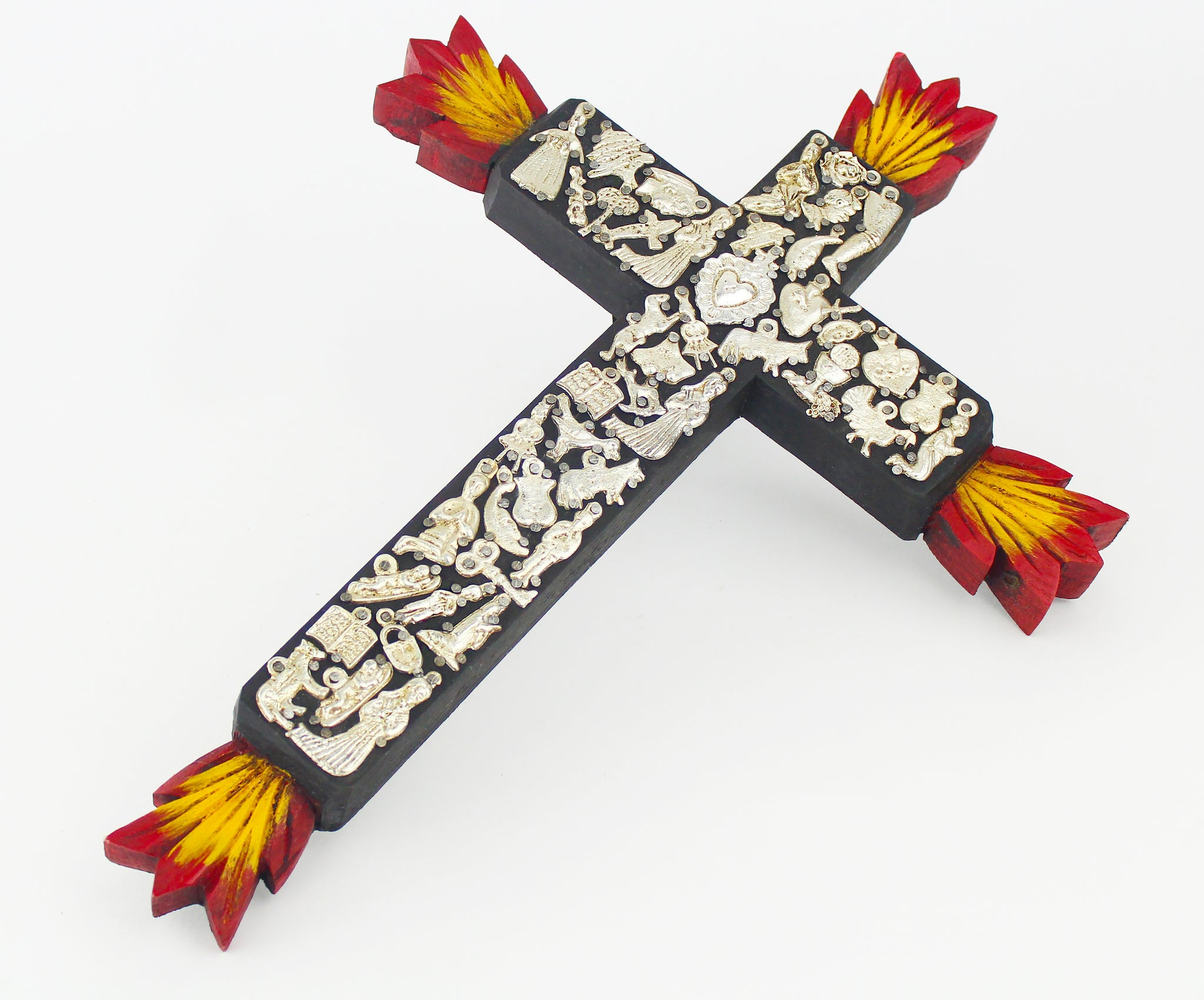 Illuminated Milagros Crosses
