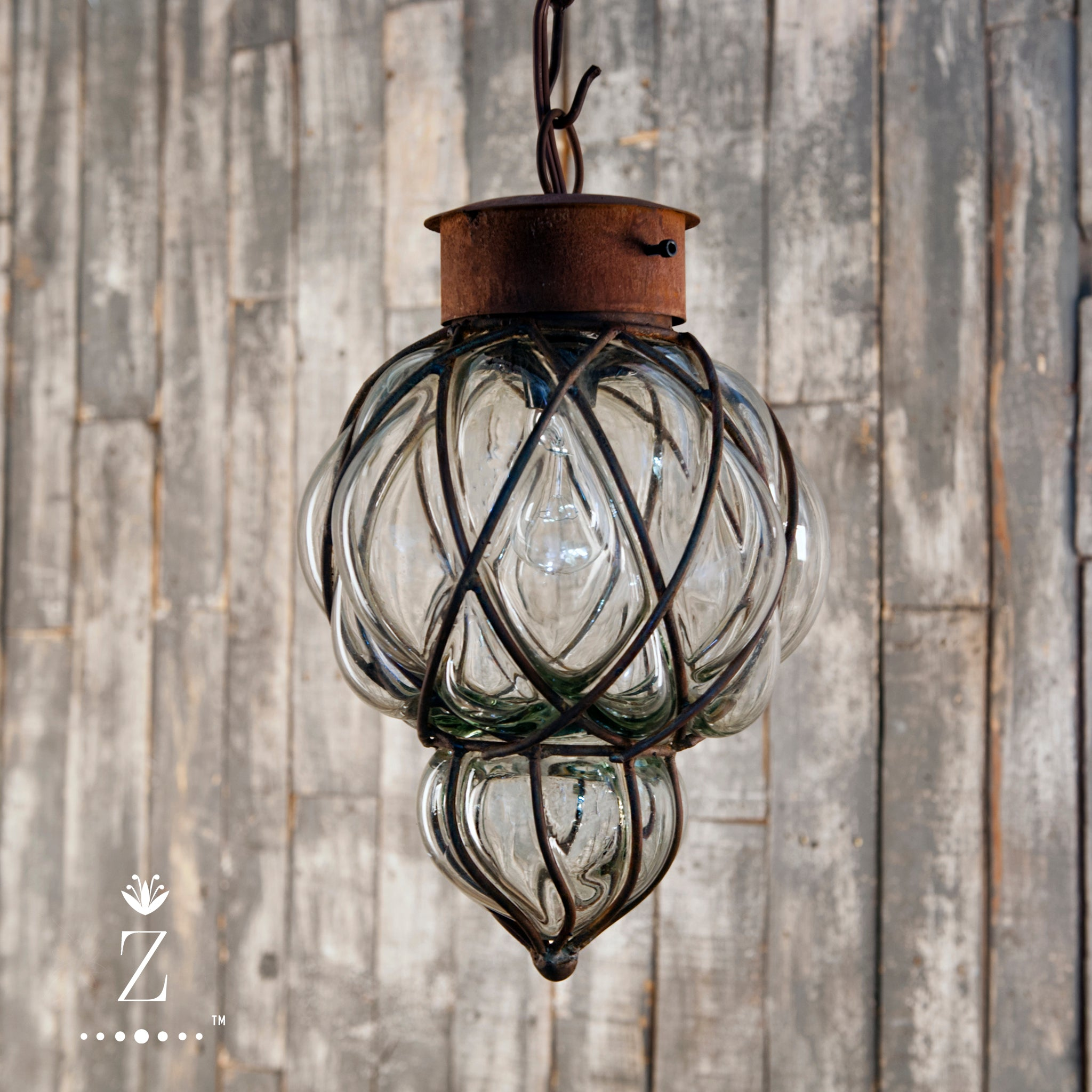 Piña Pendant Light | Small Clear