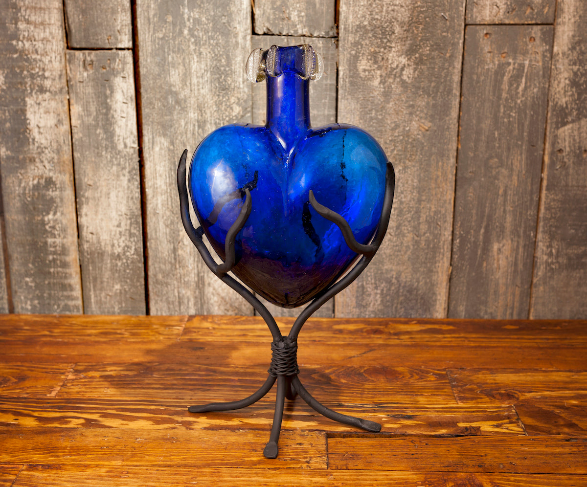 Blown Glass Hearts