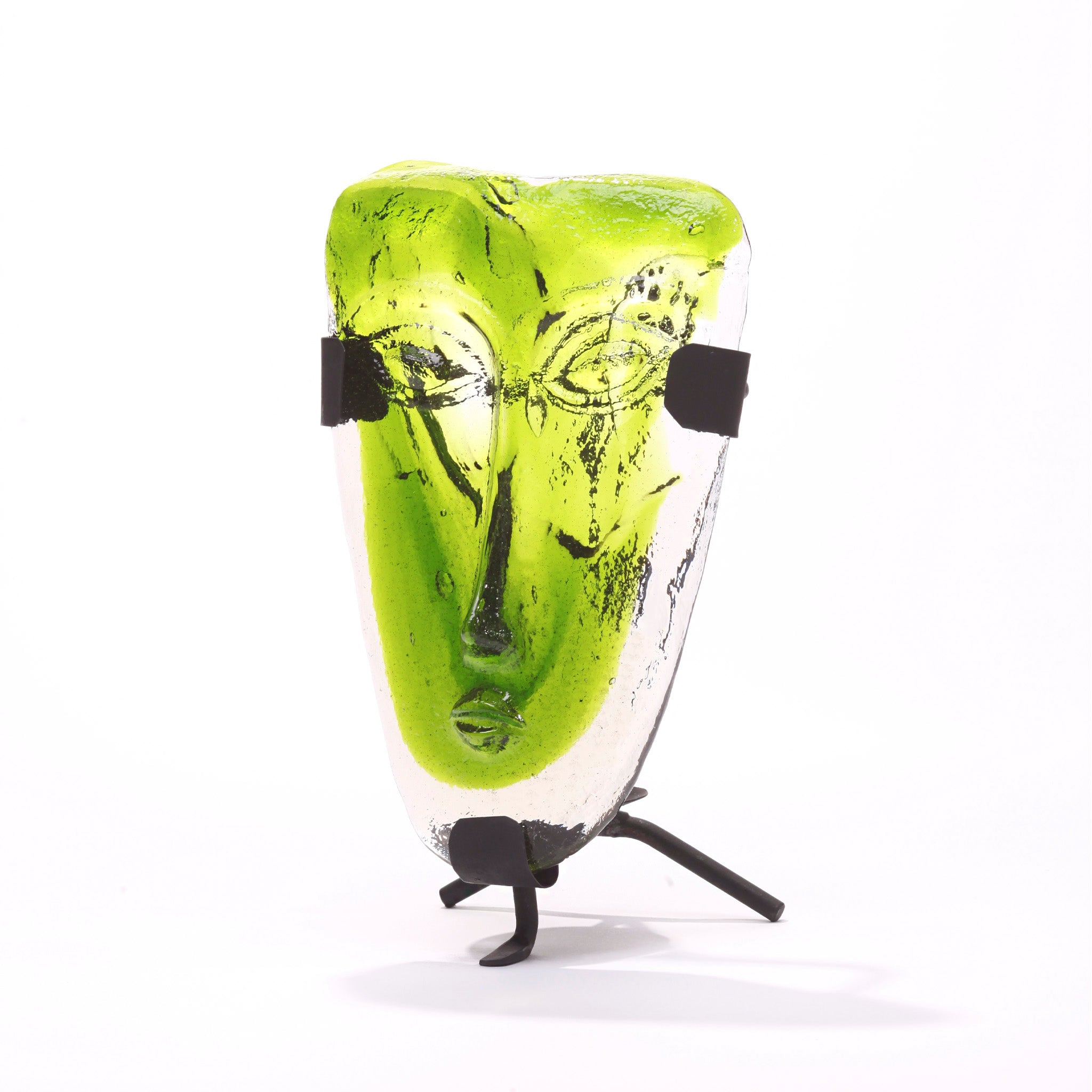 Indio Glass Face | Green