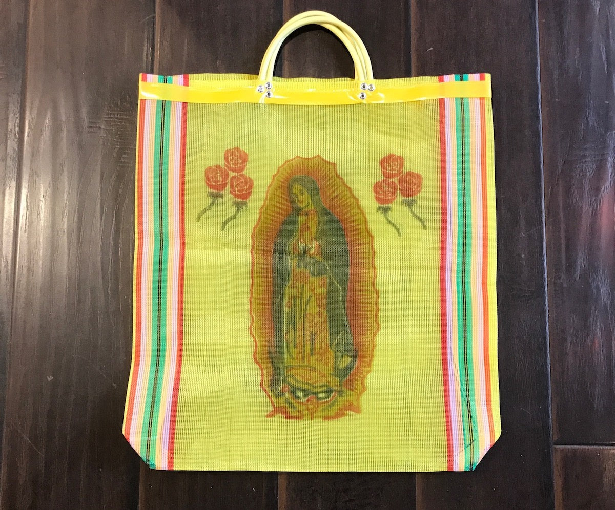 Retro Mesh Tote | Virgin Guadalupe