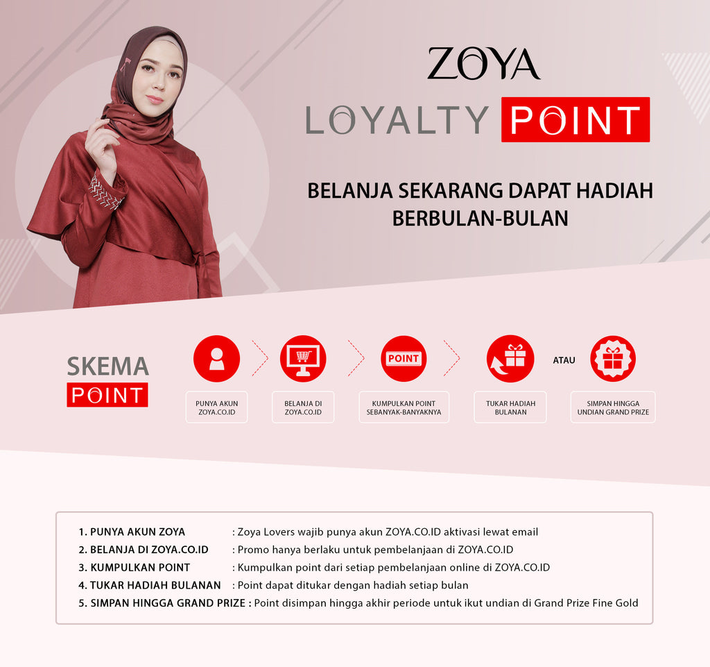 Zoya Loyalty Points